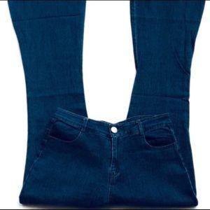 💙 Bell Bottom Boho Hippie Jeans Size 30/10 X 32